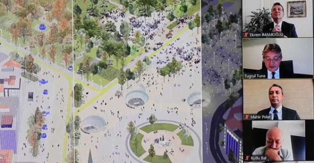 """İBB """"Taksim Kentsel Tasarım Yarışması"""" düzenliyor"""