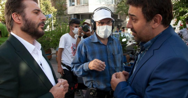 İran televizyonunun yeni dizisinin İstanbul çekimleri devam ediyor