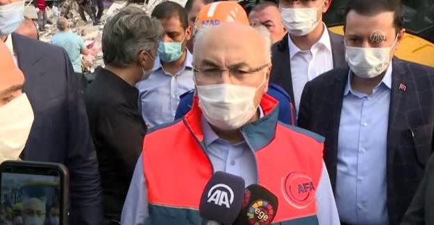 """İzmir Valisi Yavuz Selim Köşger: """"Enkaz altından şu ana kadar 70 civarında kişi kurtarıldı"""""""