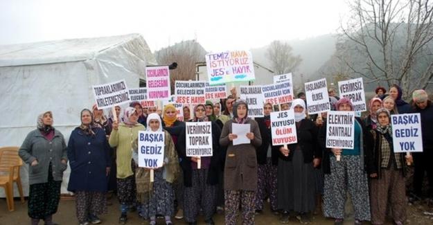 """Jeotermal Enerji Santralleri (JES) projesini iptal ettiren köylülerden çağrı; """"Hadi davamızı savunuverin gari"""""""