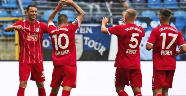 Münih Türkgücü SV Waldhof Mannheim ile 4 - 4 berabere kaldı