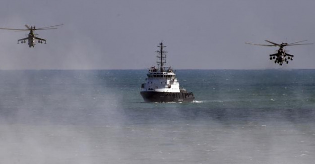Rusya'dan Hazar Denizi'nde tatbikat