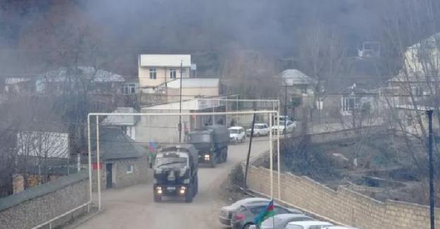 Azerbaycan ve Ermenistan Orduları Kelceber'de karşı karşıya geldi