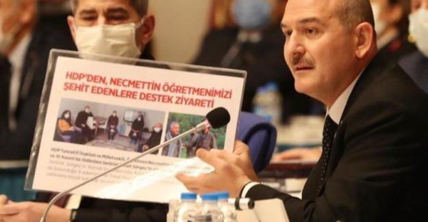 """Bakan Soylu'dan HDP'li vekillere: """"Bir tek cümle söyleyeceksiniz, 'Bu PKK'nın Allah belasını versin' diyeceksiniz"""""""