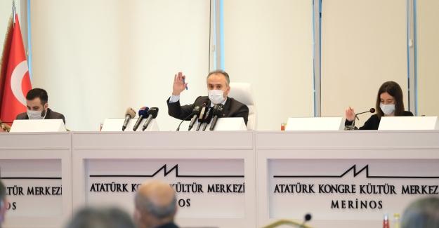 Başkan Aktaş, hakkındaki 427  Bin TL usulsüzlük iddialarını, yine Akpartili önceki Başkan Altepe'ye yükledi