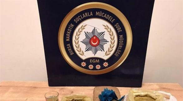Bursa'da 12 uyuşturucu satıcısı gözaltına alındı