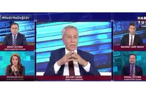 """CHP Parti Sözcüsü Faik Öztrak: """"Sayın Arınç'ın açıklamaları Saray'dan icazet almadan yaptığını düşünmüyorum"""""""