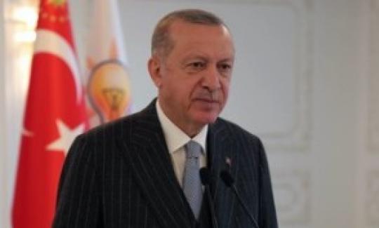 """Cumhurbaşkanı Erdoğan:  """"Sıkıntılarımızın hiçbiri önümüzdeki aydınlık geleceği karartabilecek büyüklükte değildir"""""""