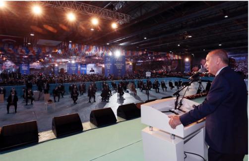 """Erdoğan: """"Karabağ'ı özgürlüğüne kavuşturan Azerbaycanlı kardeşlerimizin sevinci, bizim de sevincimizdir"""""""