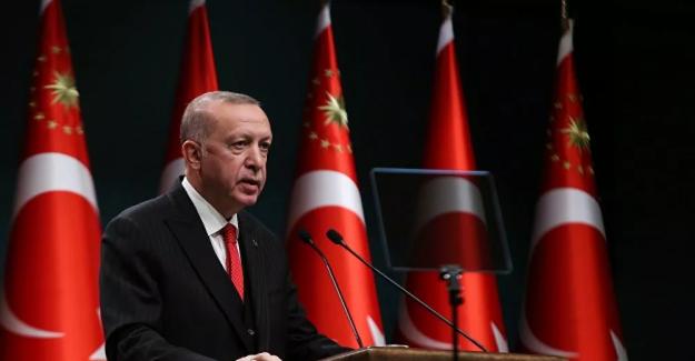 """Erdoğan: """"Önümüzdeki ay sağlık çalışanlarının aşılanması inşallah başlayacaktır"""""""