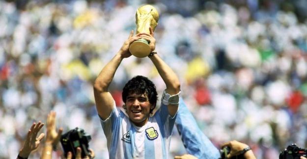 Futbol Efsanesi Maradona hayatını kaybetti!