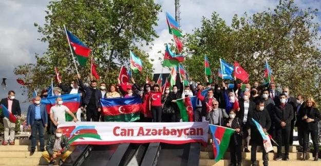 """""""Karabağ"""" için Türk Dünyasından Azerbaycan'a Büyük Destek"""