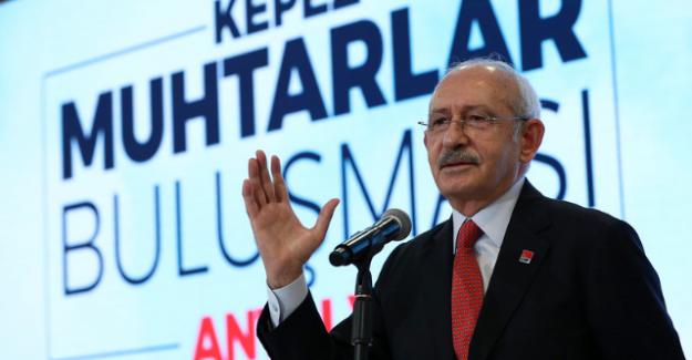 """Kılıçdaroğlu Antalya'da: """"Gerçek anlamda Türkiye sevdalısıyım. Her evde huzurun, bereketin olmasını isterim"""""""