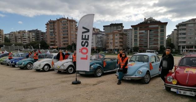 LÖSEV'den Bursa'da Farkındalık Konvoyu