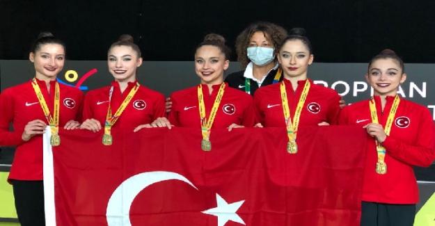 Türkiye Kadın Ritmik Cimnastik Grup Milli Takımı Avrupa Şampiyonu!..