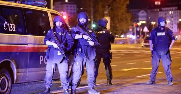 Viyana'da sinagog yakınlarında terör saldırısı