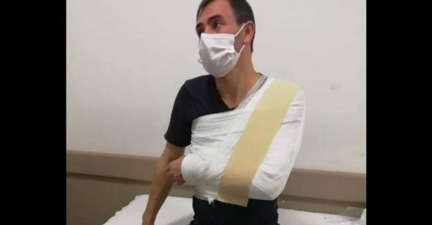 Ambulans şoförüne 'maske' dayağı! 3 gün iş göremezlik raporu aldı