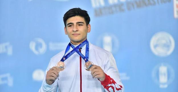 Avrupa Erkekler Artistik Cimnastik Şampiyonası'nda Milli Sporcularımıza 4 madalya