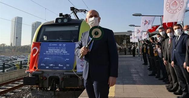 Birleşik Taşımacılık Çalışanları Sendikası, İstanbul'dan Çin'e gönderilen ve geri döndüğü ortaya çıkan trenle ilgili açıklama yapacak