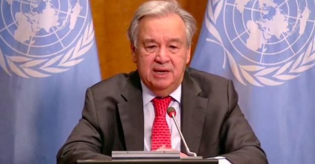 """BM Genel Sekreteri Guterres: """"Dünya iklim OHAL'i ilan etmeli"""""""