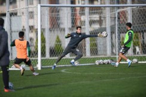 Bursaspor, Keçiörengücü Maçı Hazırlıklarına Başladı