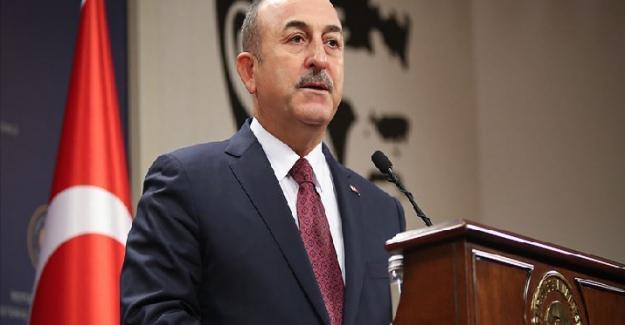 """Çavuşoğlu: """"Azerbaycan'da olduğu gibi Ukrayna'nın da toprak bütünlüğüne bağlıyız"""""""