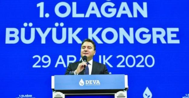 DEVA Partisi 1. Olağan Genel Kurul Toplantısı yapıldı