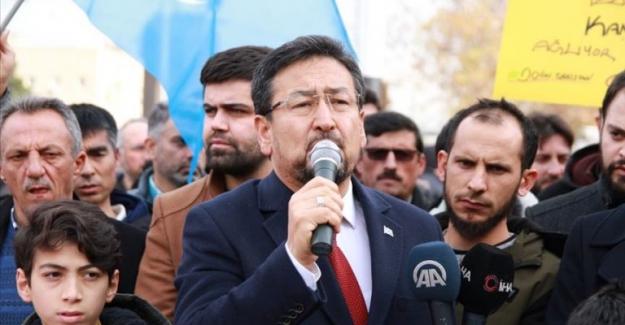 Doğu Türkistan Milli Meclisi Başkanı Tümtürk'ten Perinçek'in iftiralarına karşı suç duyurusu