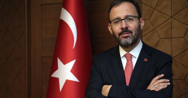 Gençlik ve Spor Bakanı Kasapoğlu da Koronavirüsten kaçamadı