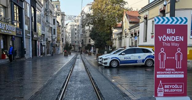 İçişleri Bakanlığı'ndan sokağa çıkma kısıtlamasında 'istisna' genelgesi