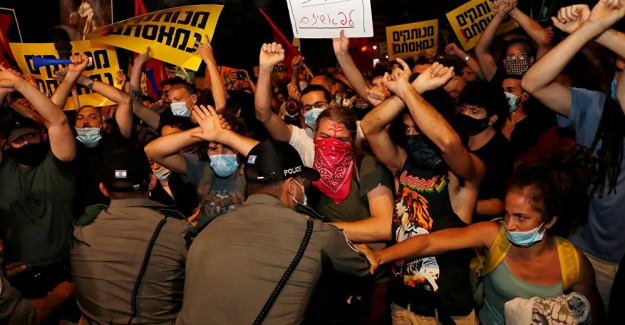 İsrail'deki Netanyahu karşıtı gösterilerde 27 gözaltı