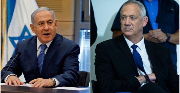 """İsrail Savunma Bakanı Benny Gantz, Netanyahu´yu """"entrikacı ve yalancı"""" olarak nitelendirdii"""
