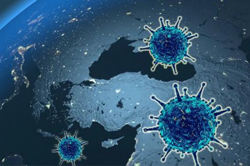 Koronavirüs salgınında vaka sayısı 17 bin 543'e ulaştı