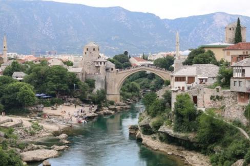 Mostar'da yerel seçimler gerçekleşti