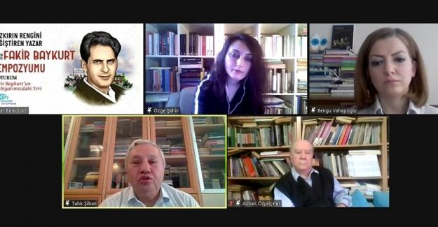 """Nilüfer'de """"Yılın Yazarı Fakir Baykurt"""" etkinlikleri sona erdi"""
