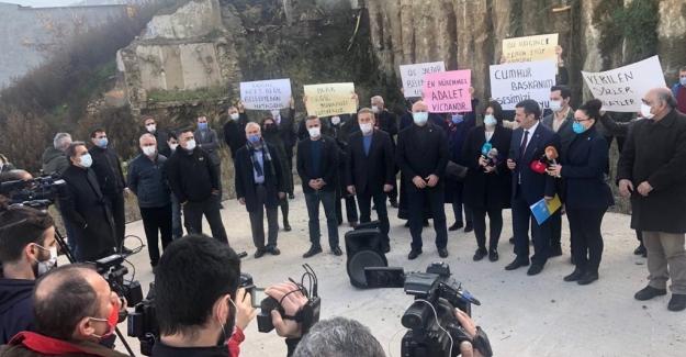 """Türkoğlu: """"Heyelan Mağdurlarının Yanındayız"""""""
