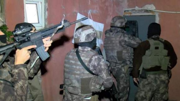 Yılbaşı gecesi öncesi İstanbul'da 14 farklı ilçede IŞİD operasyonları