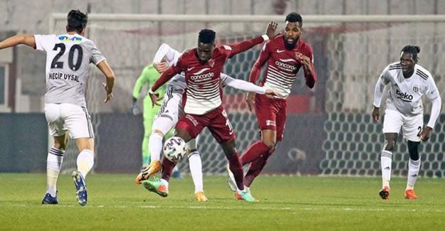 Beşiktaş Hatay'dan 2 - 2 beraberlikle ayrıldı