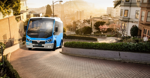 Bursa Karsan'dan Romanya'ya elektrikli toplu taşım araçları