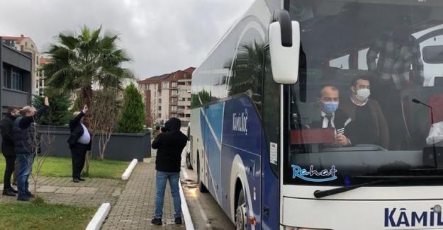 Bursaspor'un Antalya Yolculuğu Başladı