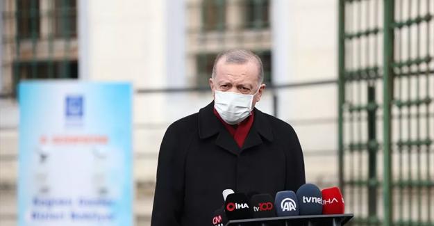 """Erdoğan gıda fiyatlarıyla ilgili esnafa seslendi: """"Vatandaşın ezilmesine tahammül edemeyiz. Çok ağır cezalar sizleri bulabilir"""""""