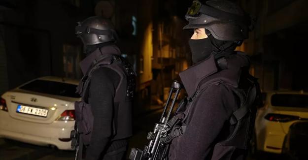 İstanbul'da 'PKK operasyonu': 5'i yabancı uyruklu 9 şüpheliden 8'i yakalandı