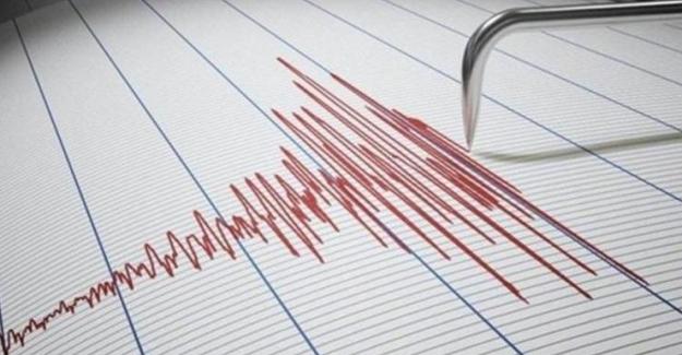 İzmir Seferihisar açıklarında 4,5 büyüklüğünde Deprem!..