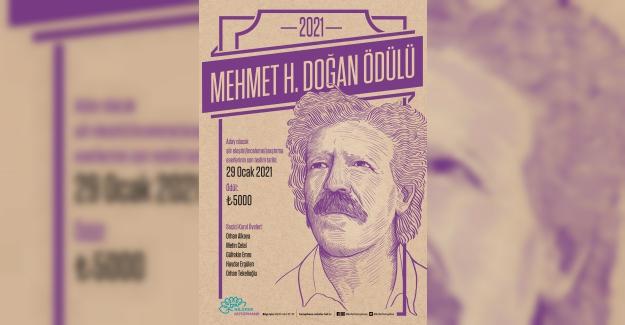 Mehmet H. Doğan Şiir Ödülü'ne başvurular başladı