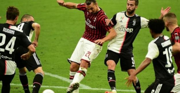 Milan, konuk ettiği Juventus'a 3-1 yenildi. İşte karşılaşmadan önemli dakikalar