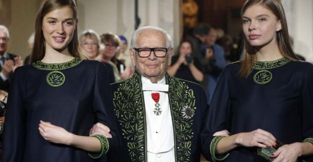 Moda dünyasının ünlü Fransız tasarımcısı Pierre Cardin 98 yaşında hayatını kaybetti