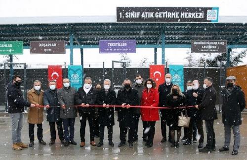 Nilüfer'e 1. Sınıf Atık Getirme Merkezi kuruldu