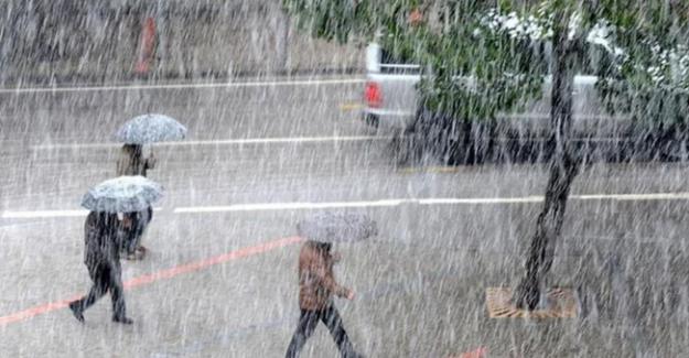 Şiddetli sağanak ve fırtına geliyor!..