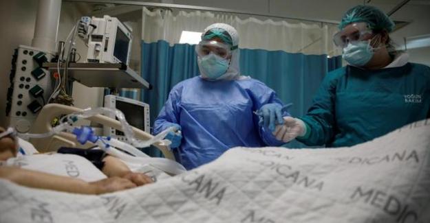 Türkiye'de 2020 yılında 2 milyon 208 binden fazla kişi hastalığa yakalandı, 2 milyon 100 bin kişi iyileşti