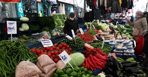 Gıda fiyatlarında yıllık yüzde 20.6'ya ulaşan artışla OECD ülkeleri arasında birinci sıradayız